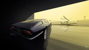 Maserati Ghibli SS van Thomas Bigwood