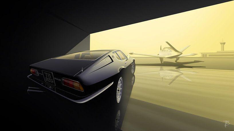 Maserati Ghibli SS von Thomas Bigwood