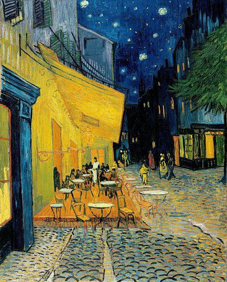 Caféterras bij nacht van Vincent van Gogh