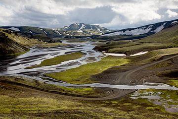 IJslandse weg sur Ab Wubben