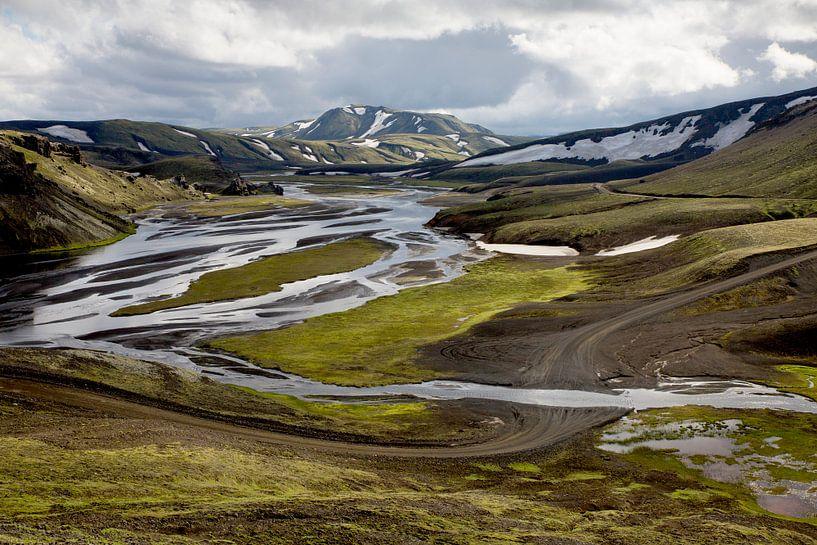 IJslandse weg van Ab Wubben
