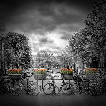 AMSTERDAM Herengracht  von Melanie Viola