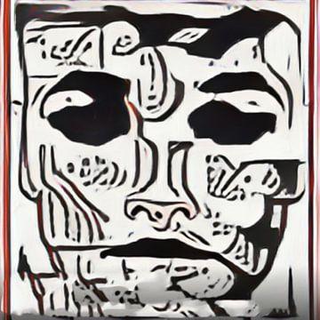 Abstract Inspiratie LXXIII van Maurice Dawson