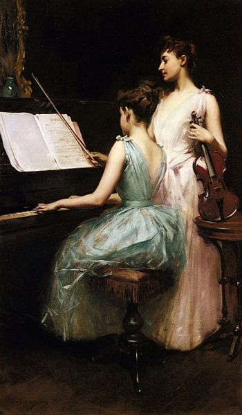 Irving Ramsey Wiles-De-Sonate von finemasterpiece
