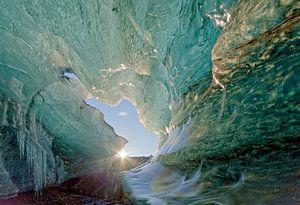 IJsgrot in een gletsjer