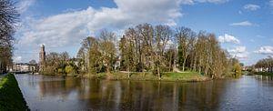 Centrum van Zwolle in een mooi voorjaarszonnetje.