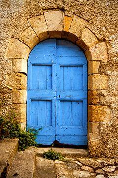 La vieille porte bleue sur Peter Halma