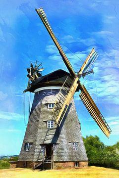 Holländermühle in Benz auf der Insel Usedom von PhotoArt Thomas Klee