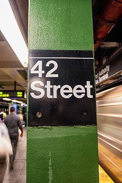 42nd street, New York van hugo veldmeijer