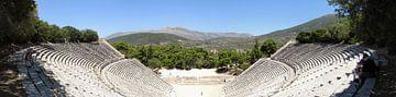 Theater von Epidauros von Wiljo van Essen