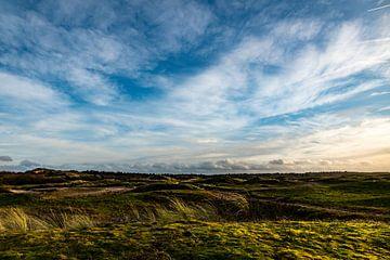 Dünenlandschaft an der Küste von Noordwijk - Dünendammschlacht von Linsey Aandewiel-Marijnen