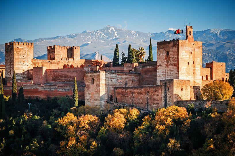 Granada - Alhambra van Alexander Voss