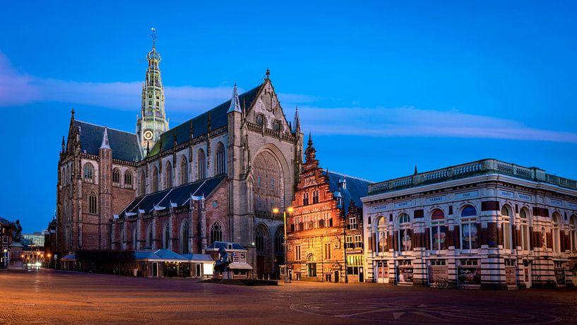 De Grote of St. Bavokerk te Haarlem van Arjen Schippers