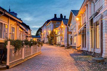 Avond in Porvoo, Finland van Adelheid Smitt