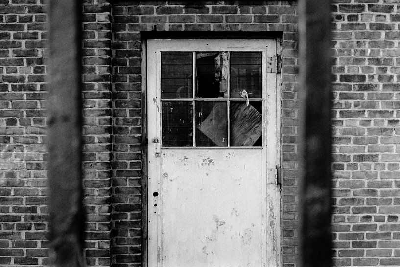 Verlassene Tür von Irene Lantman