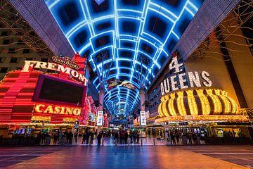 Fremont street Las Vegas - Old strip van Keesnan Dogger Fotografie