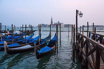 Blick auf die Insel San Giorgio Maggiore in Venedig, Italien von Rico Ködder