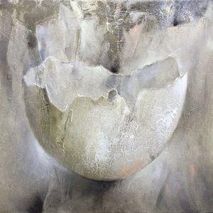 Eierschale II van Annette Schmucker