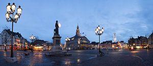Markt in Maastricht von Wim Roebroek