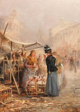 Pariser Blumenmarkt