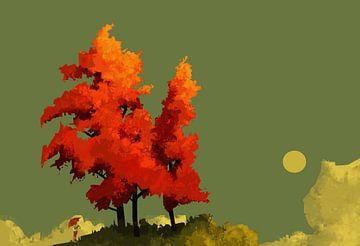 Ein Abend im Herbst von Thomas Dijkstra