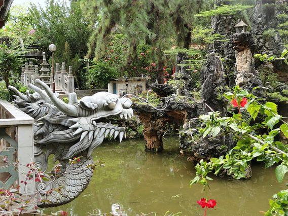 Ipoh landscape garden Maleisie van Bianca Louwerens