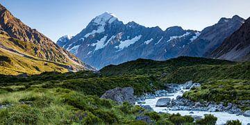 Mount Cook en de Hooker valley van Antwan Janssen