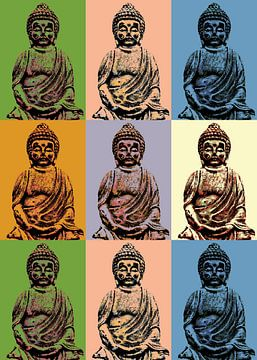 Buddha  van Gabi Siebenhühner