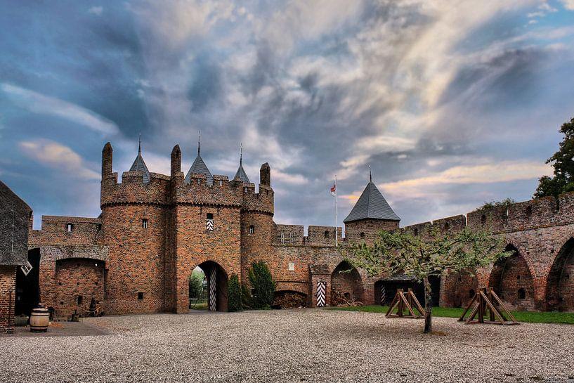 Schloss Doornenburg, Doornburg, Niederlande von Maarten Kost