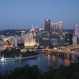 Pittsburgh - Stadt der Brücken von Sander Knopper