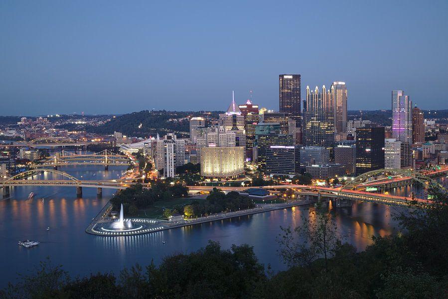 Pittsburgh - city of bridges van Sander Knopper