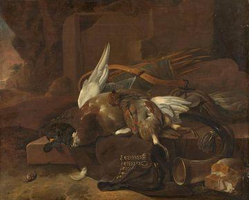 Jachtbuit, Melchior d'Hondecoeter van