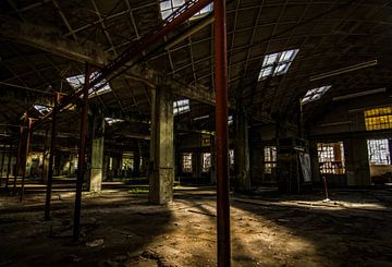 Urbex Fabrik von Frans Scherpenisse
