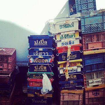 Boxen Thailand von