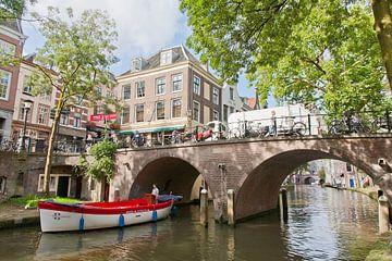 Stadsgracht te Utrecht sur Ben van Boom