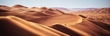 Oman Rub Al Khali Emtpy Qarter Wüste Panorama von Jean Claude Castor