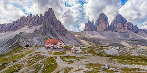 De Drei Zinnen in de Dolomieten in Italië - 2