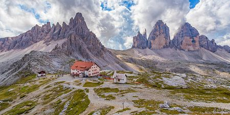 Der Drei Zinnen in den Dolomiten in Italien - 2
