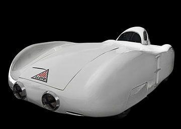 "Lloyd World Record Car Roland "" White Mouse"" van aRi F. Huber"