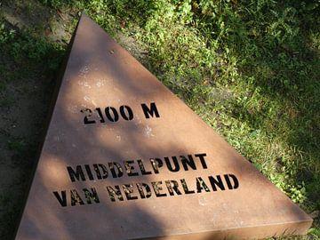 Middelpunt van Nederland  van Wilbert Van Veldhuizen