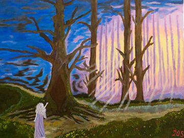 Spirit Wood van Jos van Oorschot