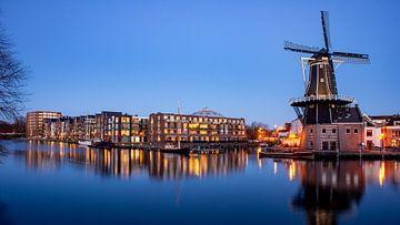 Panorama van het Spaarne in Haarlem - Maart 04