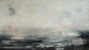 Abstrakte Komposition 10.121 von Petra Lorch