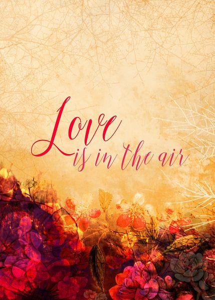 LOVE IS THE AIR Portrait van Pia Schneider