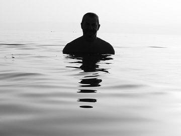 De Dode Zee, Jordanië van Nadine Geerinck
