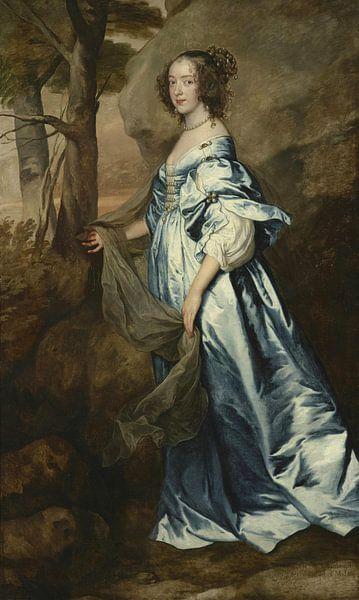 Lady Anne Carey, spätere Vicomte Claneboye und Gräfin von Clanbrassil, Antoon van Dyck von Meesterlijcke Meesters
