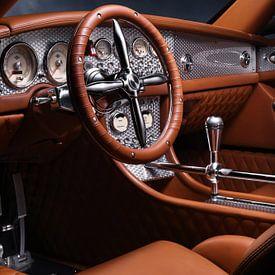 Spyker C8 Spyder Interior sur Thomas Boudewijn