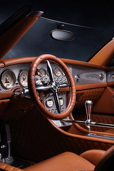 Spyker C8 Spyder Interior van Thomas Boudewijn