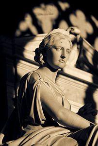 Romeins beeld van een vrouw van Nannie van der Wal
