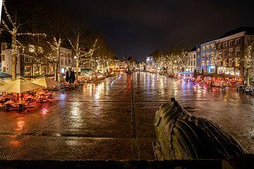 'De brink' stadsplein van Deventer van Fotografiecor .nl